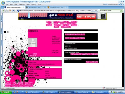 Girly but sexy layouts for myspace