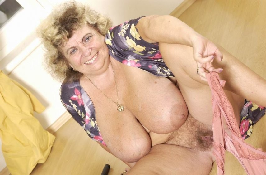 Naked women over 60 hairy pussy