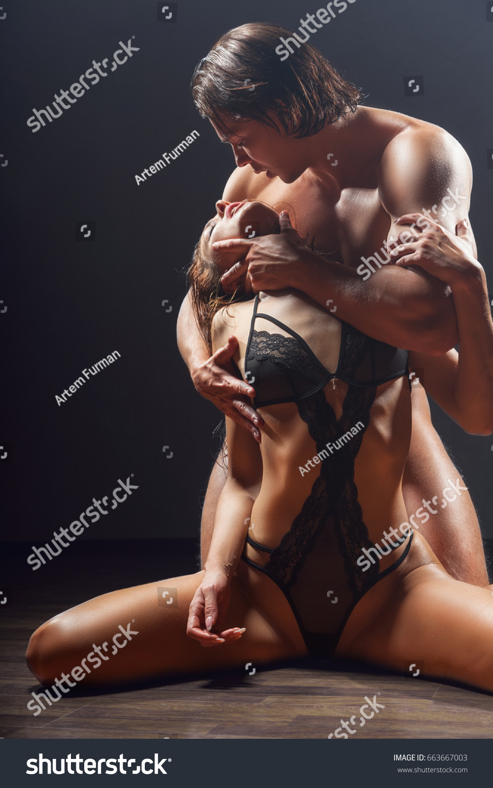 Sexy couples having sex