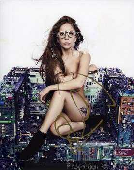 Lady gaga nude album cover