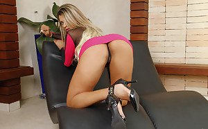 Natasha belle wearing pantyhose