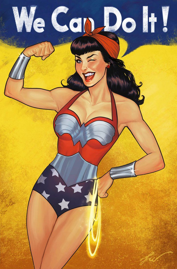 Comic books women pin up