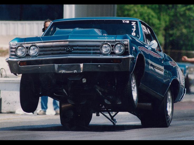 Chevy chevelle with hot girl