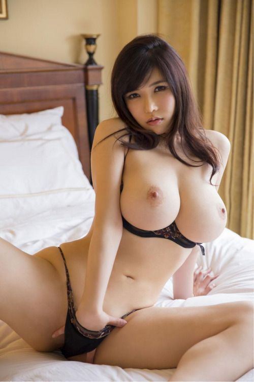 Sexy naked large boobs asian