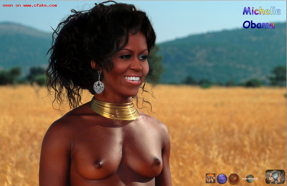 Naked pics of michelle obama