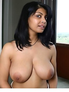 Busty indian amateur hairy pussy