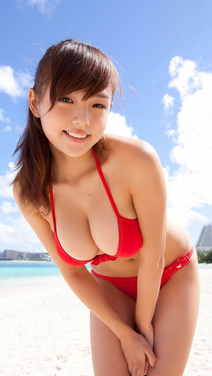 Asian japanese girl bikini