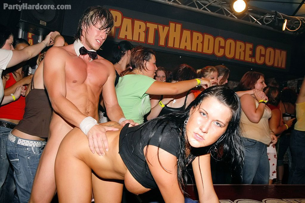 Party hardcore strippers fucking girls