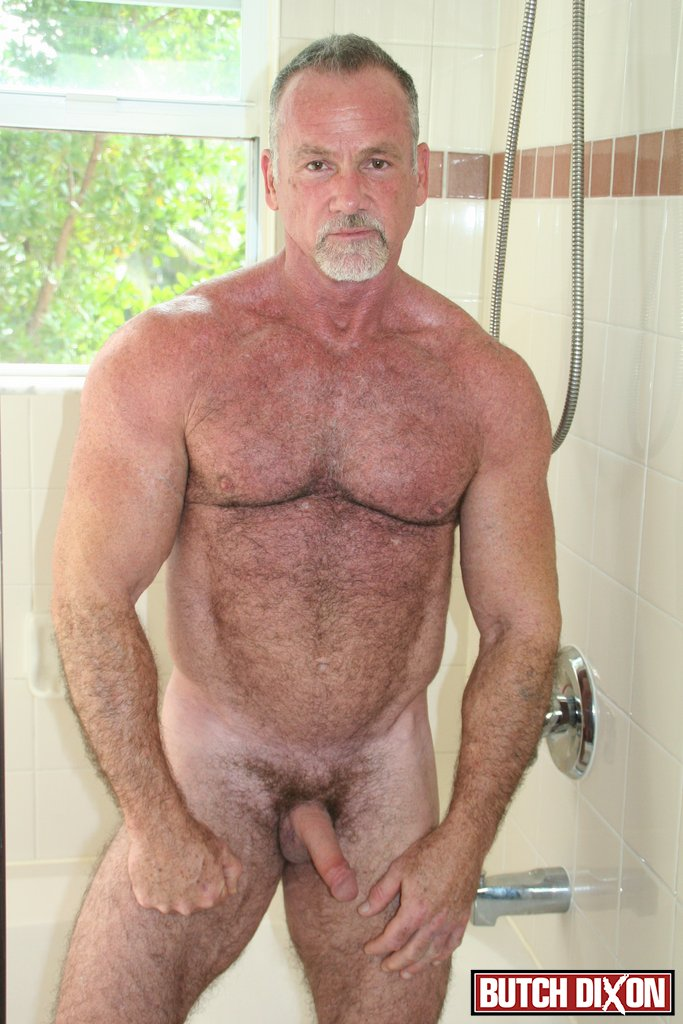 Nice old daddy naked