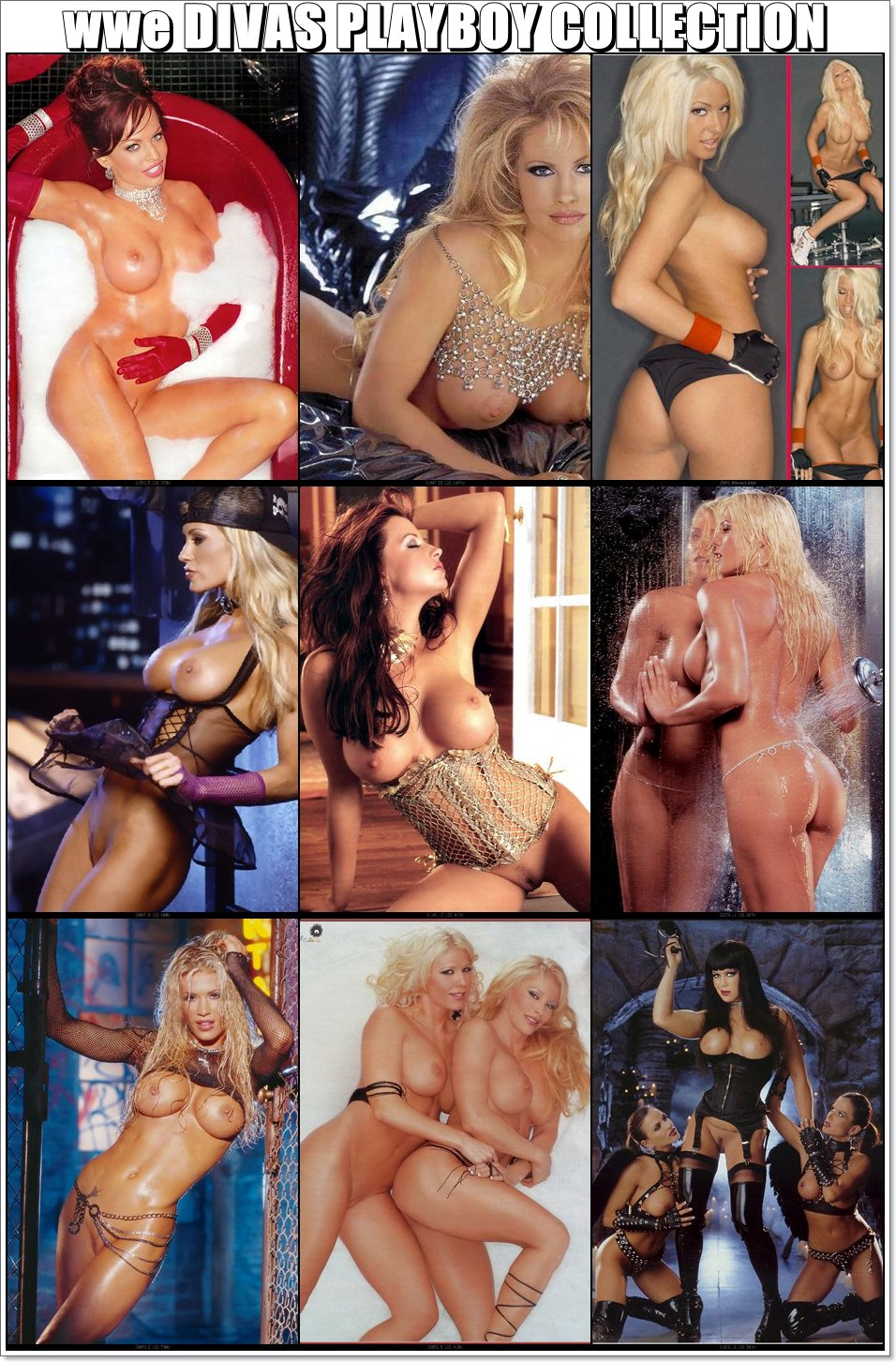 Xxx nude of wwe girls