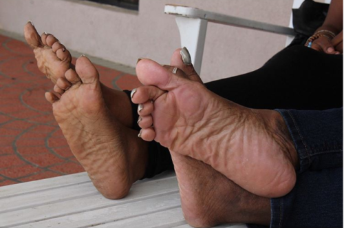 Tumblr ebony feet soles