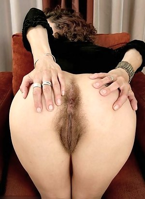 With big hairy bush