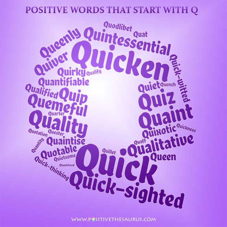 Positive words that start with t