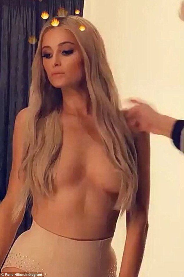 Real paris hilton nude