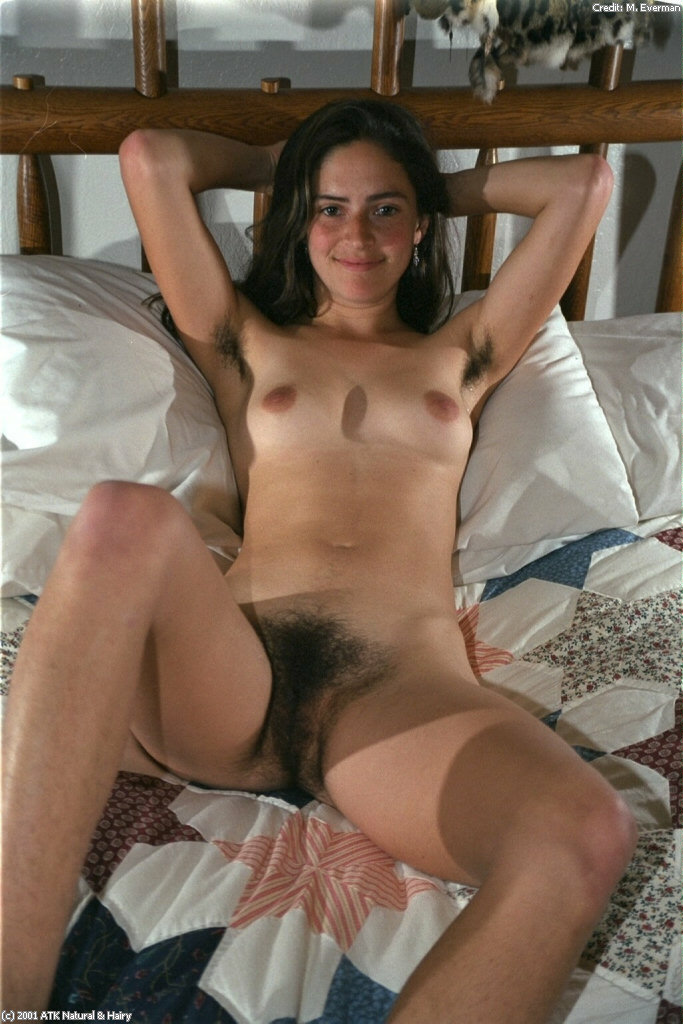 Teen girls hairy all over