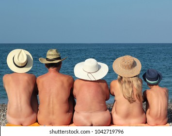 Family pic nude beach