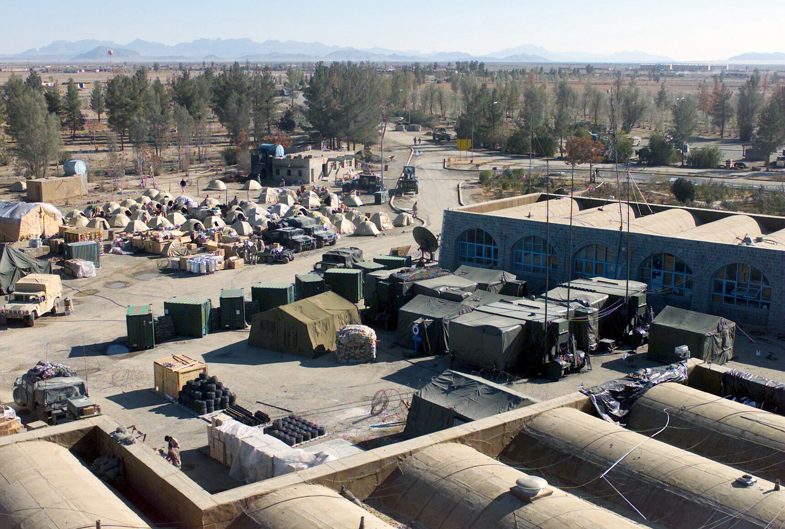 Forward operating base afghanistan