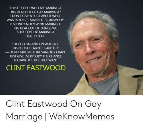 Clint eastwood shouldnt have fucked with
