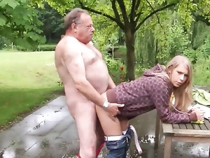 Nasty old and young sex