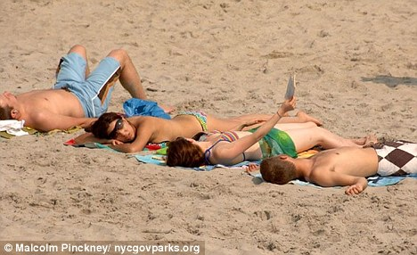 Images of family nudists