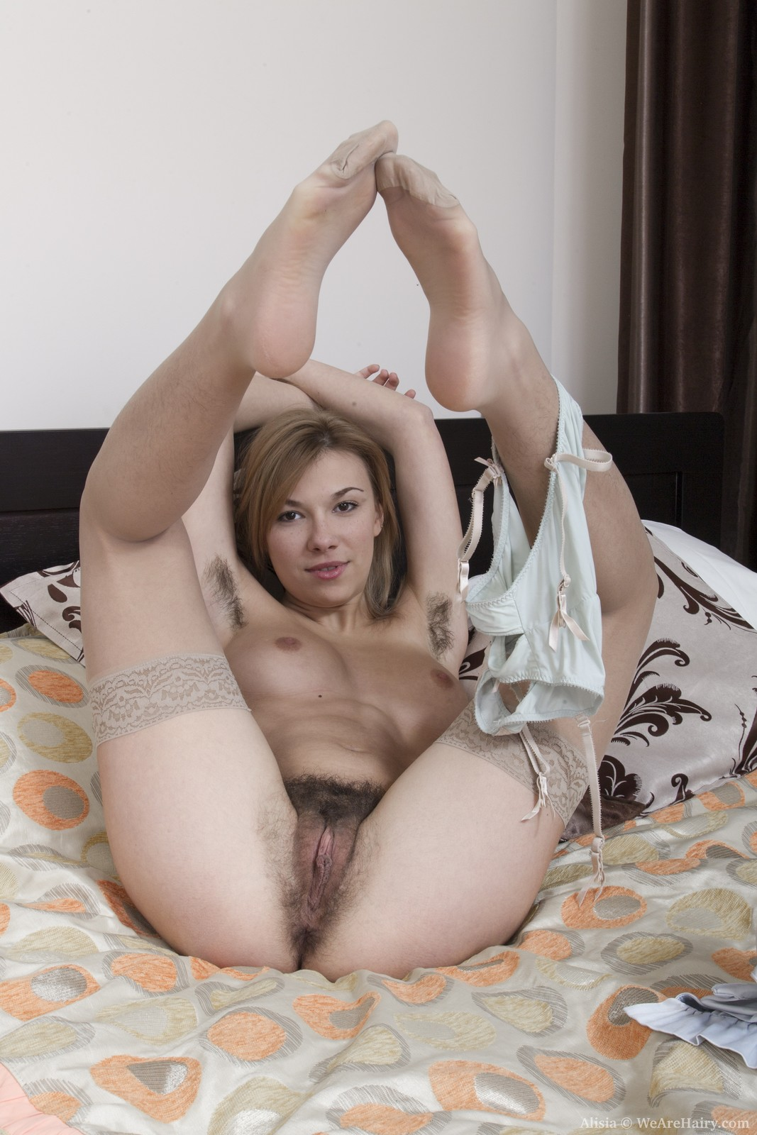 Alisia from we are hairy