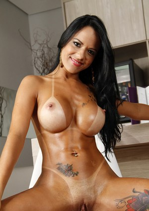 Totally naked brazilian women
