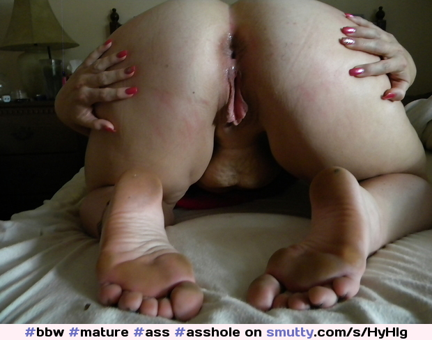 Bbw ass spread feet