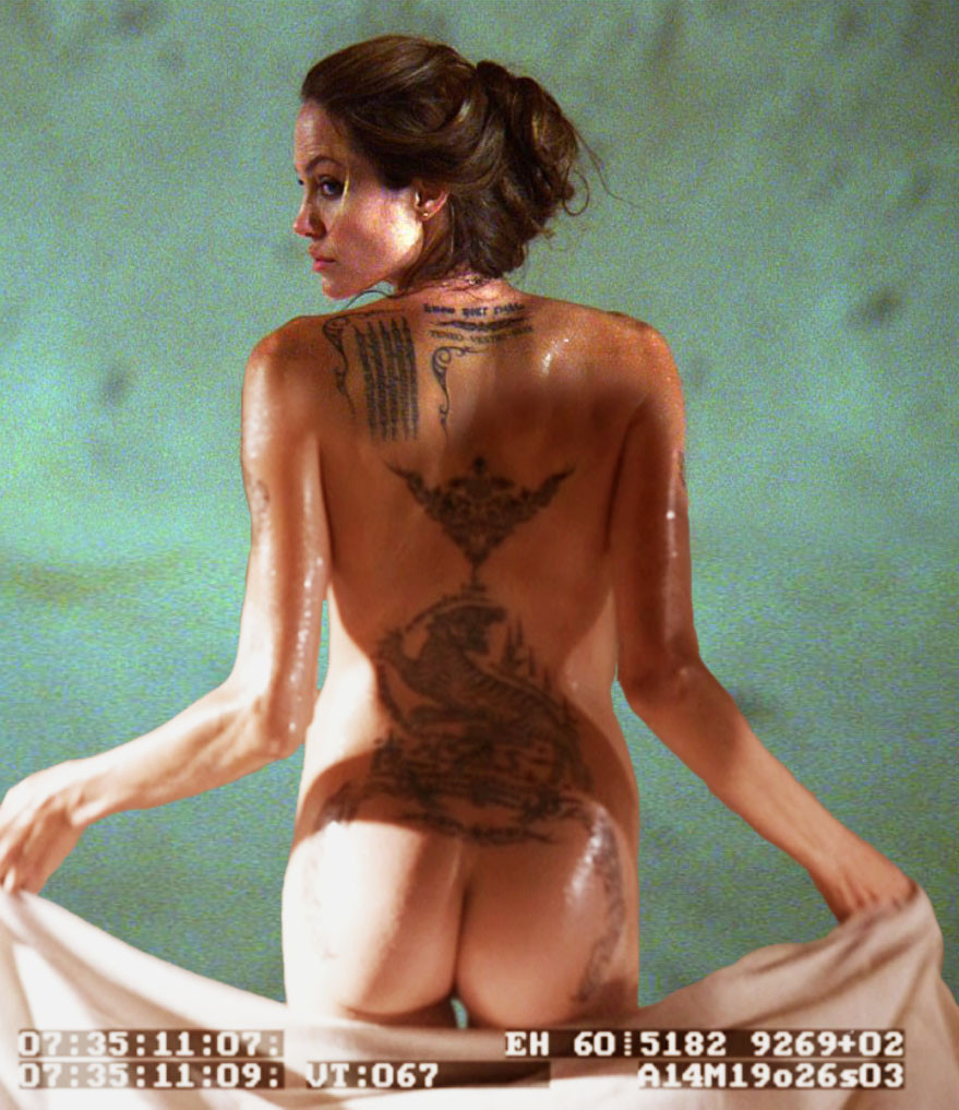 Angelina jolie naked ass