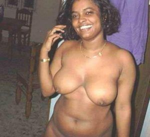 Black pregnant woman with two hairy pussy