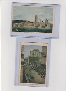 Vintage postcards and montreal