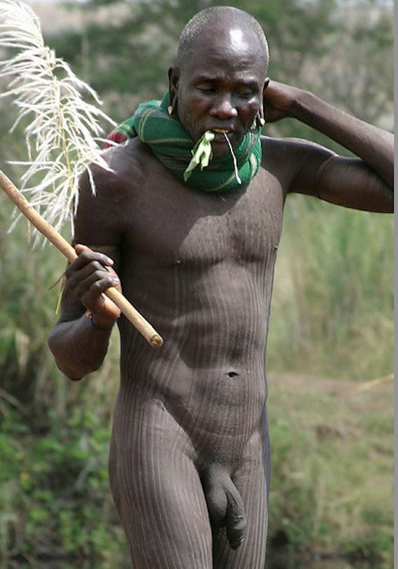 African tribe boys penis
