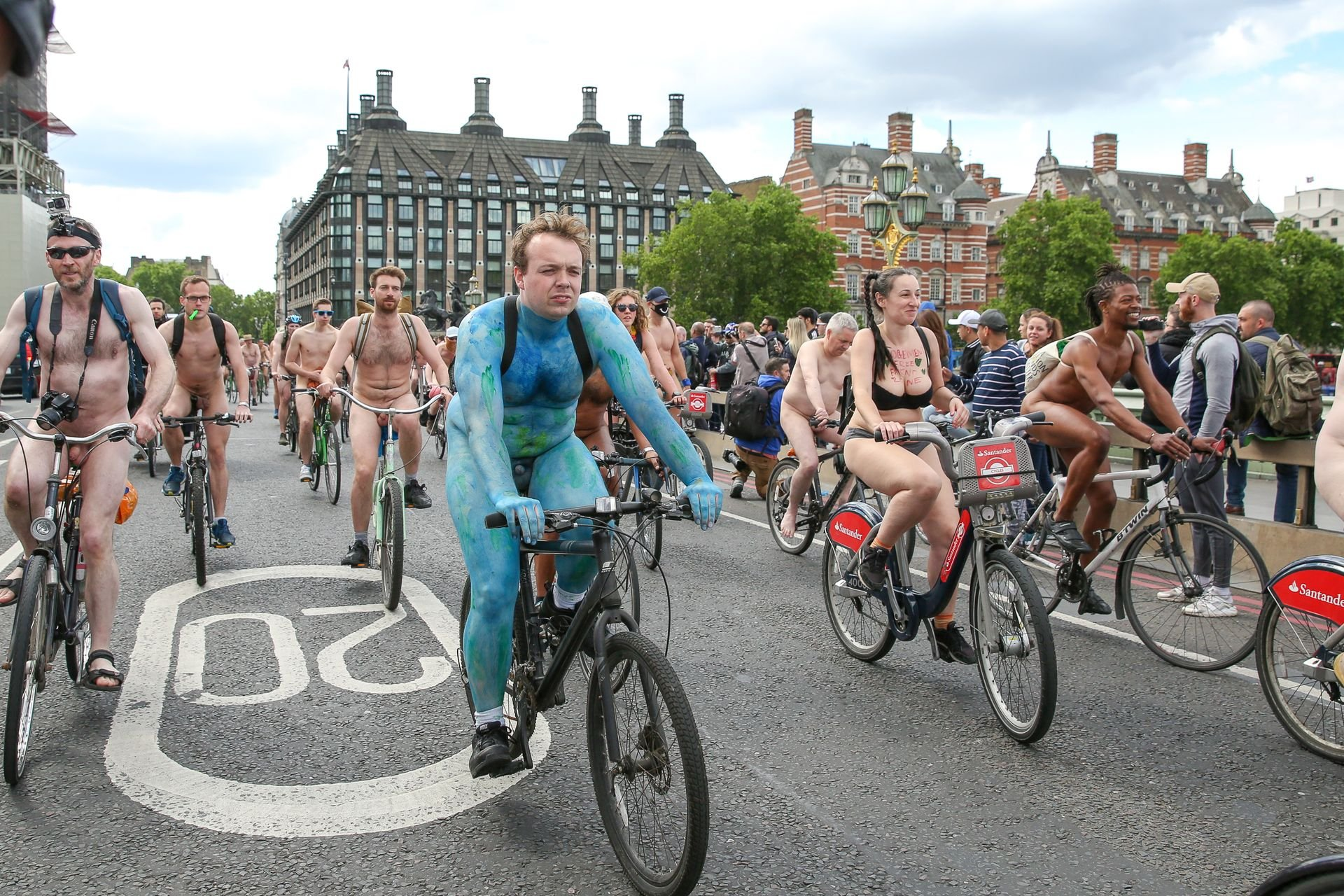 World naked bike ride pussy