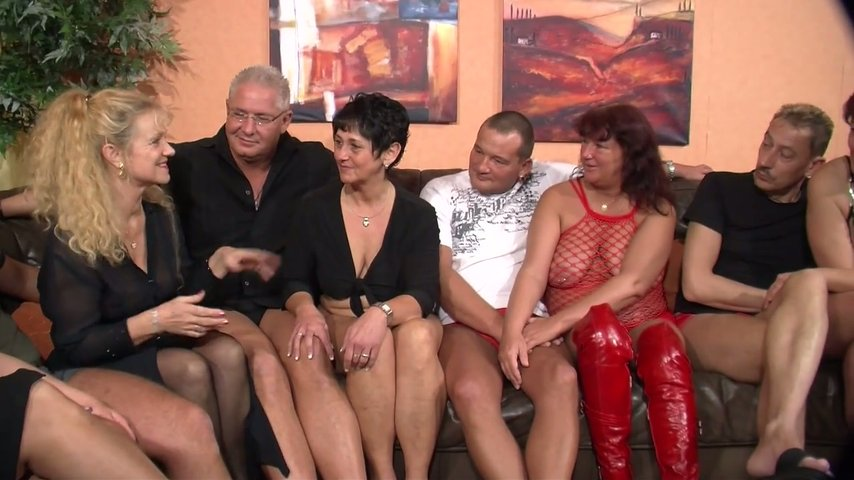 Couples party turns orgy