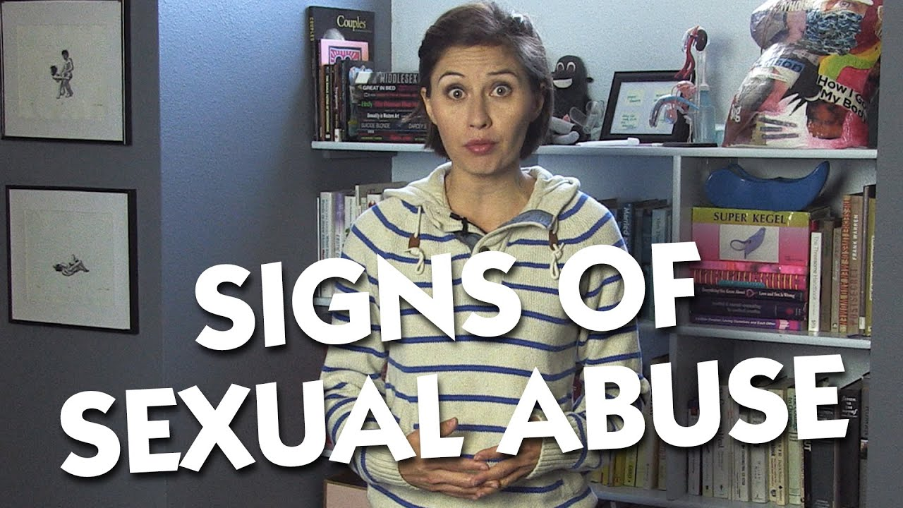 Of abuse adults in sexual repressed signs