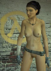 Nude alyx vance garry s mod background