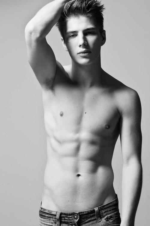 Sexy boys with v lines