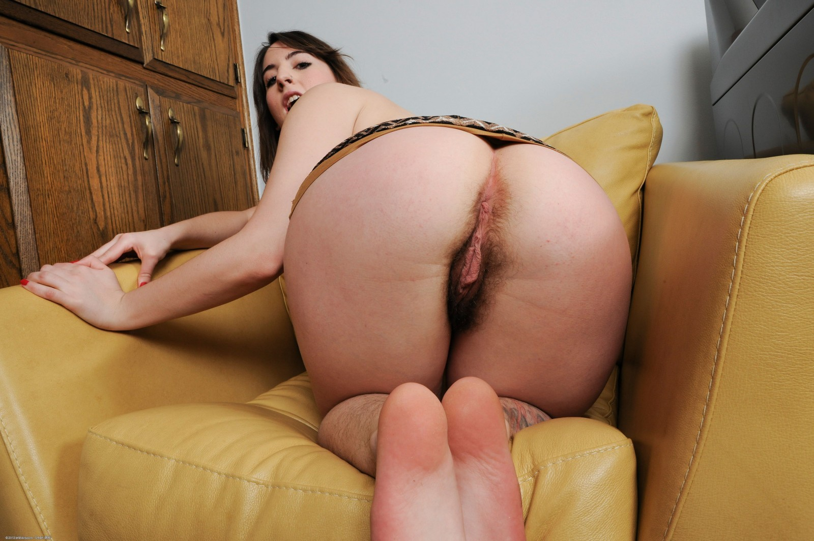Latina ass hairy pussy and naked