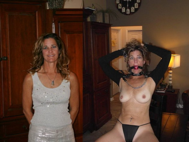 Nude amateur milfs before and after