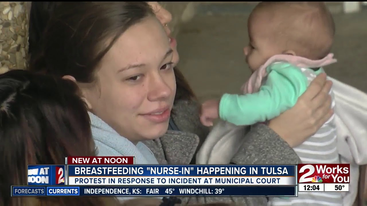 Tulsa television breast feeding