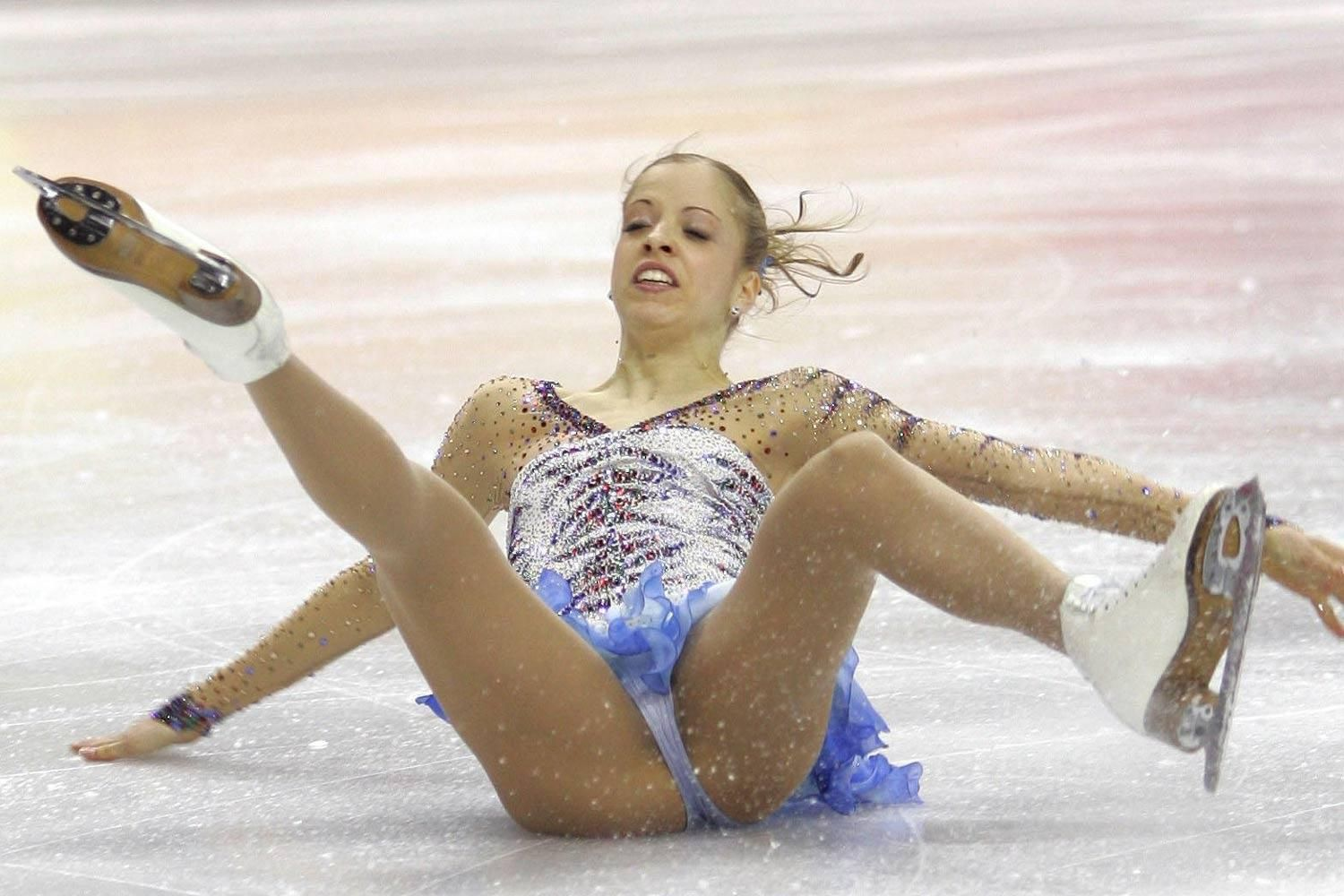 Sexy ice skaters nude