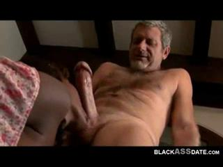 Black old man porn