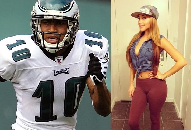 Chantel jeffries desean jackson