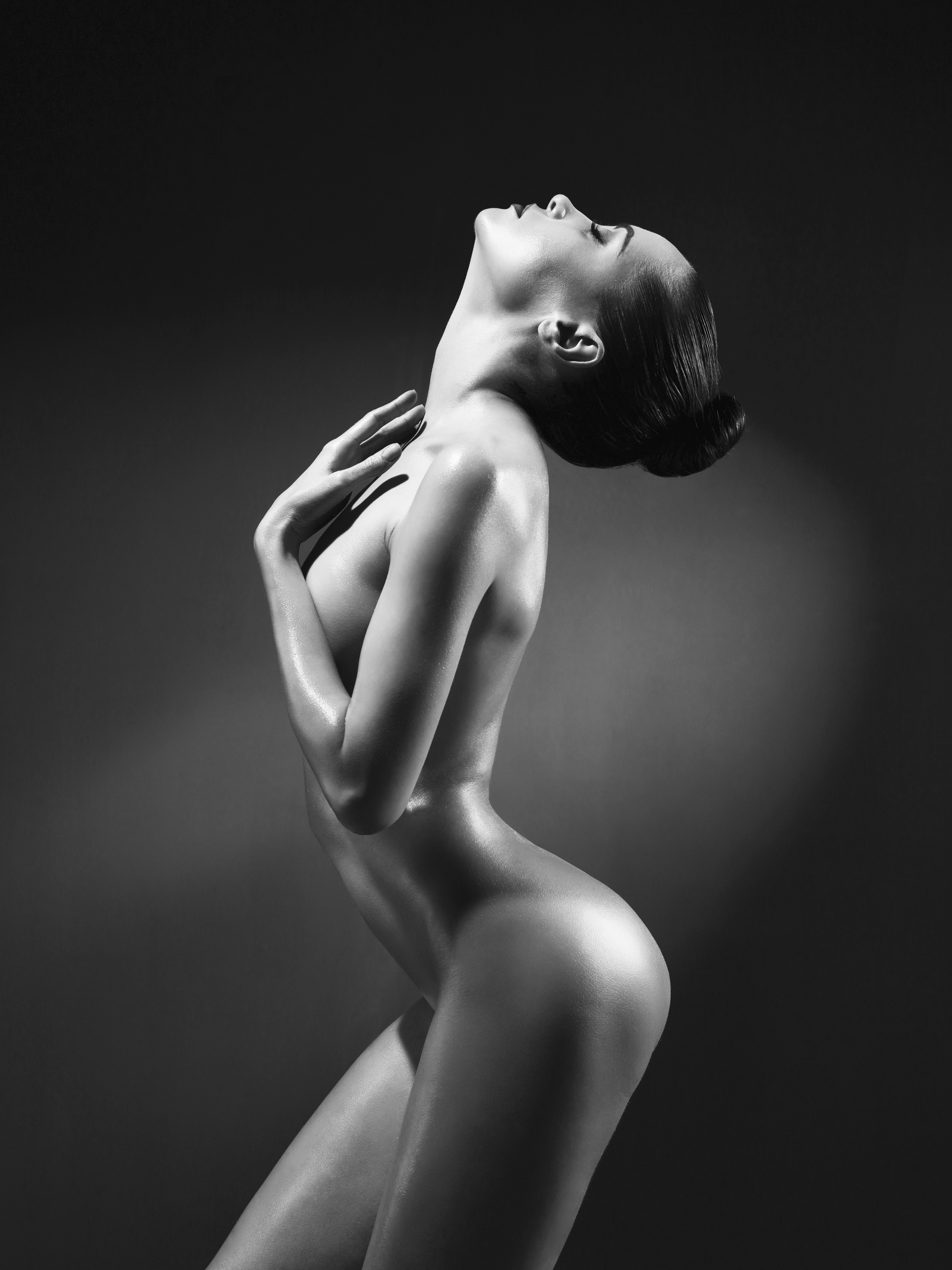 Black and white nude wife pictures