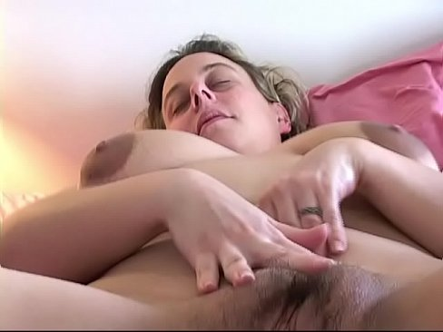 Spread pussy chubby tits