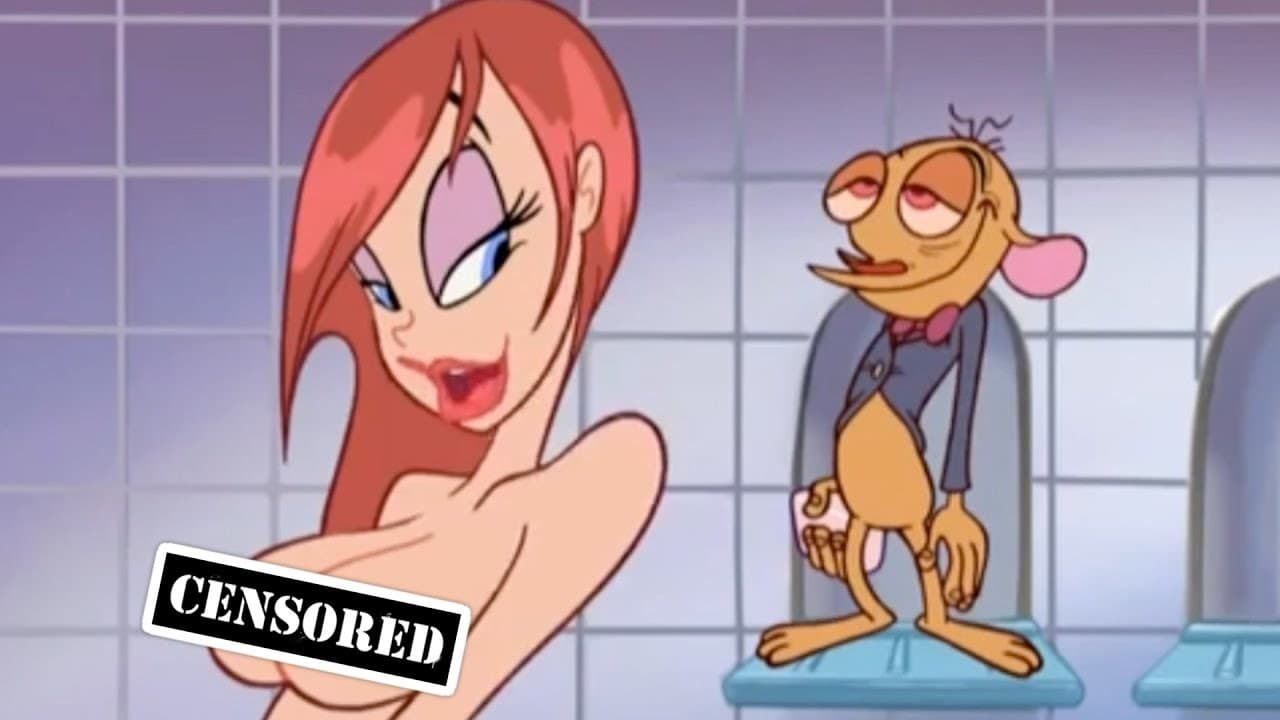 Cartoon ren and stimpy adult party