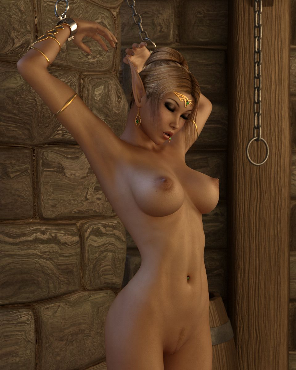 Nude game girl characters naked