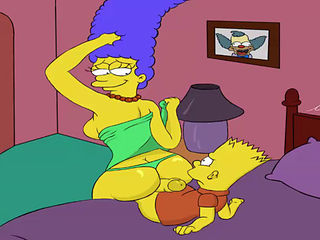 Mom sex in cartoon