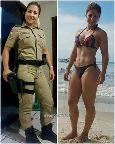 Naked women of the military