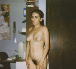 Girl naked is black that