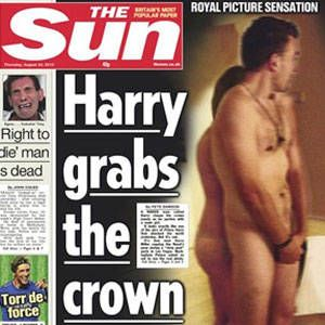 Prince harry nude vegas